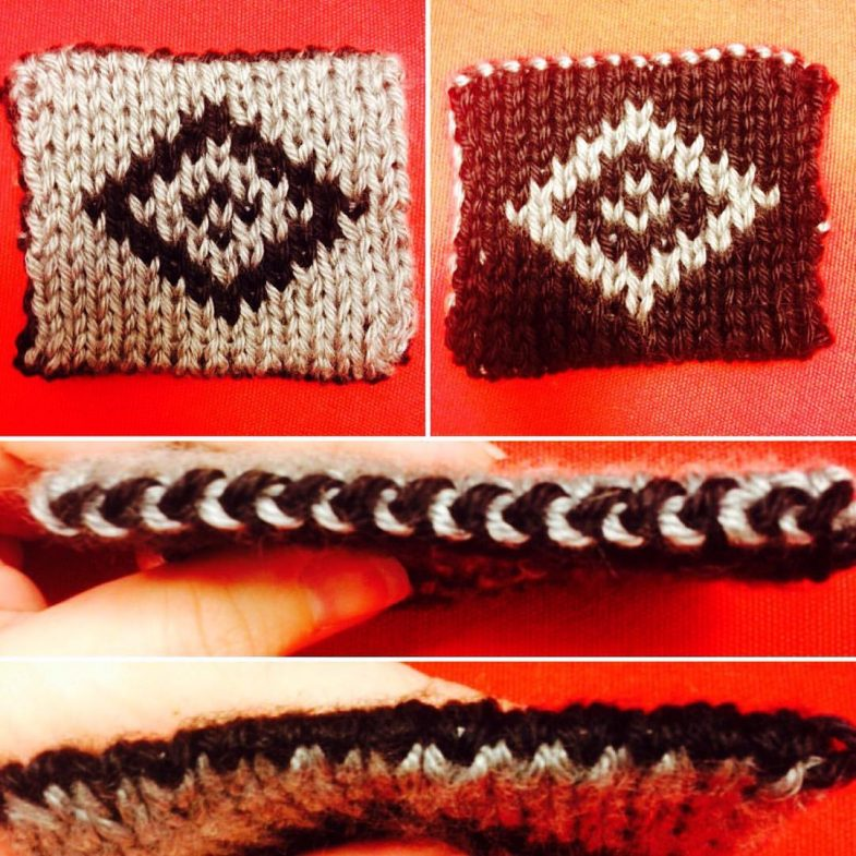 Double Knitting Swatch
