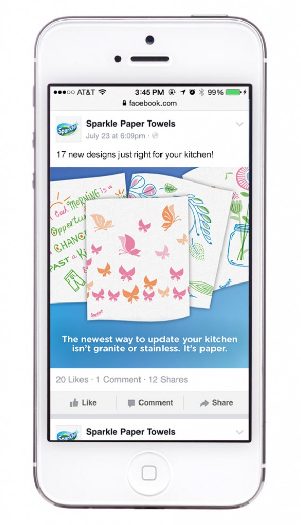 Sparkle: Spirited Print - mobile